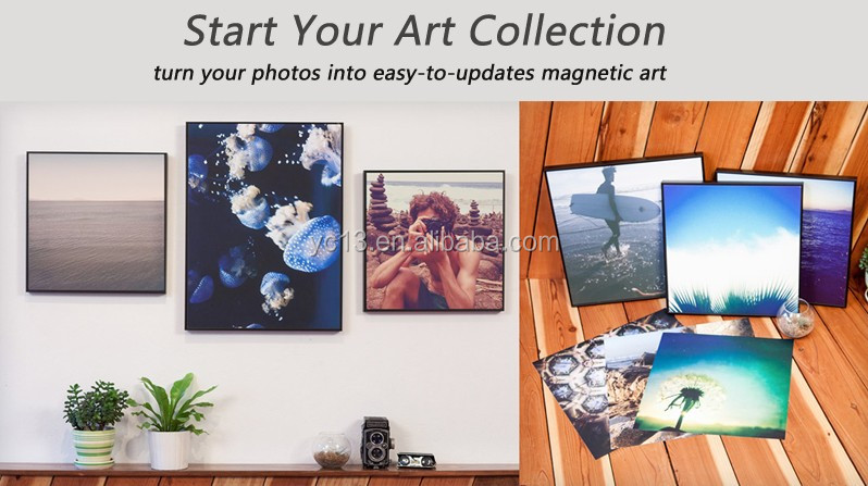 wall decoration family magnetic photo frame & print magnetic paintings picture 1013-115