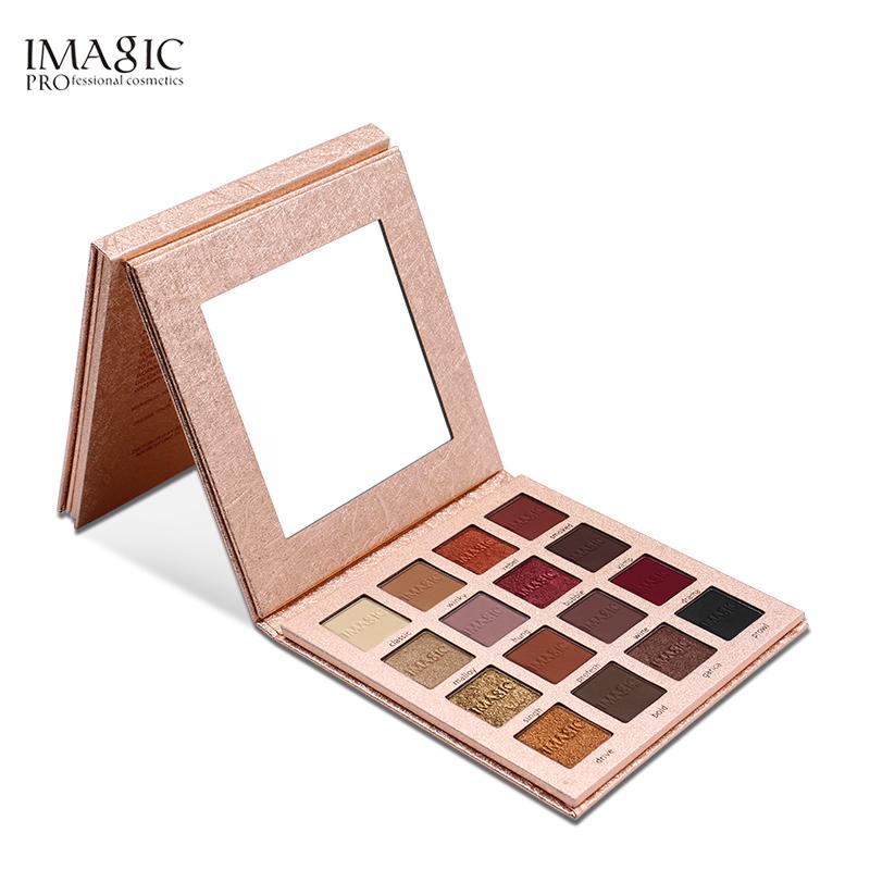 Wholesale eye shadow makeup factory 16 colors eye shadow palette imagic eye shadow palette фото