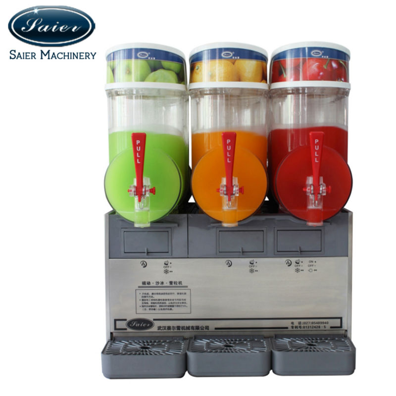 Commercial Granita Slush Machine CE Approved
