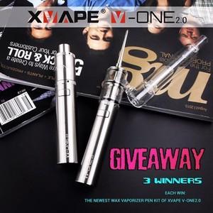 New coming Xvape v-one 2 0 wax enail dab pen electric nail dab wax  vaporizer e nail