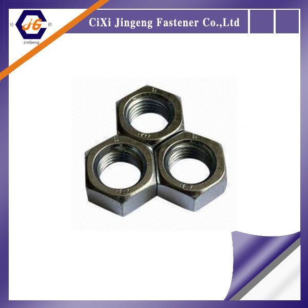 concrete industry hex nut with good quality