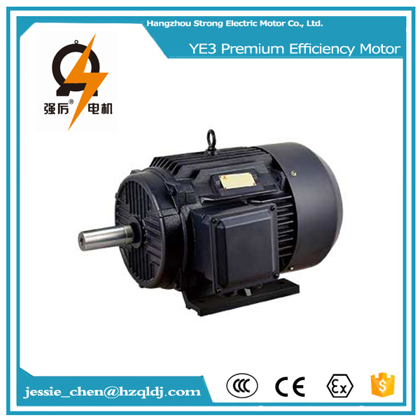 65kw iron casing ac industrial electric motor