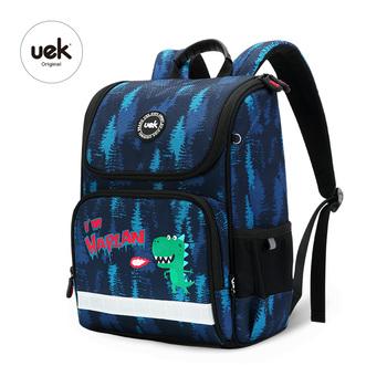 435611b6e0d Uek Kids School Backpack Waterproof Children Dinosaur Bag For Boys ...