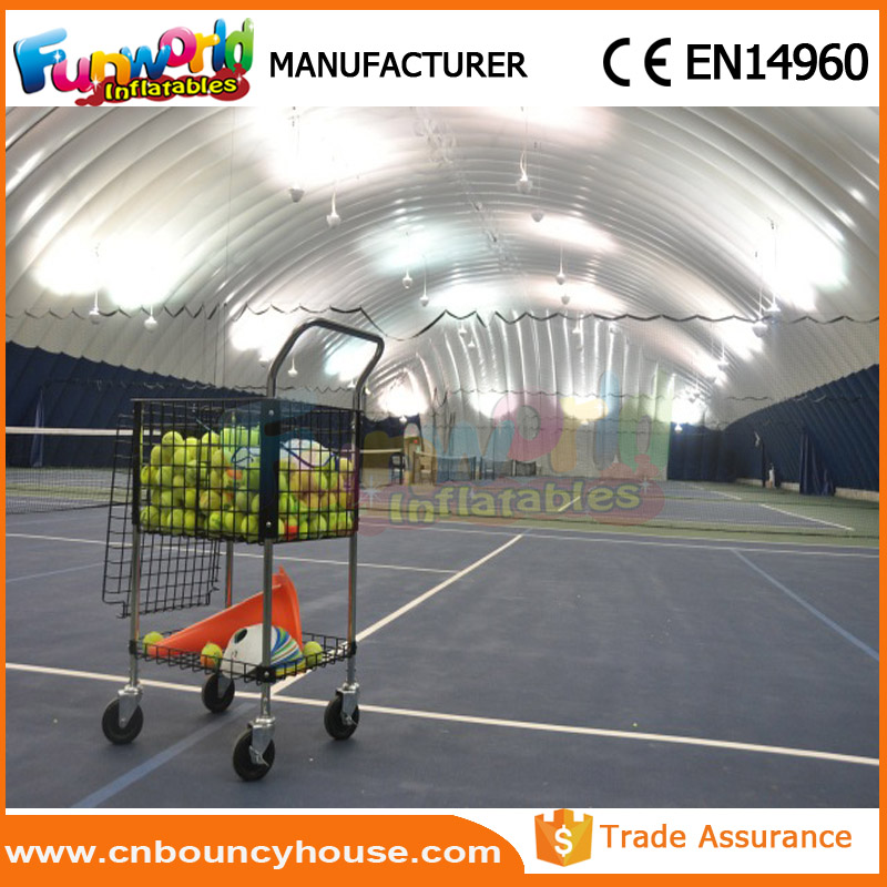 Sport inflatable tennis court tent inflatable tennis dome