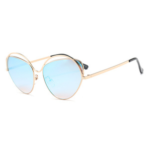 61416 Women Brand Designer Sun glasses Female Shades Lady Gradient UV400 Fashion Butterfly Sunglasses