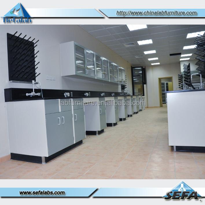 Muebles De Laboratorio Isla Marco De Acero Laboratorio Banco De ...