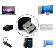 Beautiful Gitf 100% Brand New Mini USB Bluetooth Dongle Adapter for Laptop PC Win Xp Win7 8 for SmartPhone Free Shipping Dec18