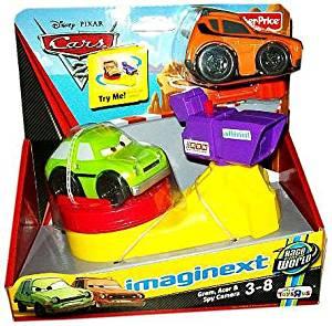 Fisher Price Imaginext Disney Pixar Cars 2 Grem, Acer and Spy Camera