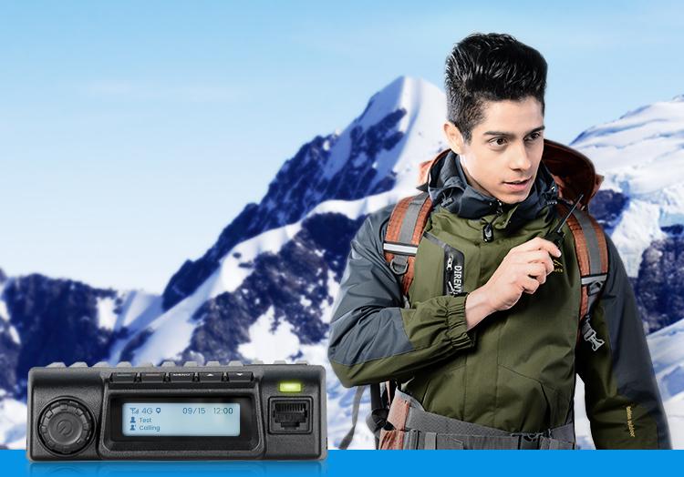2020 SenhaiX 4G LTE GSM Car Mobile Radio Real PTT Platform GPS SOS radio Bluetooth FCC