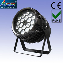 Wholesale Hot 7*10w 4in1 rgbw plastic housing led mini stage flat ...