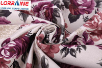 high quality and beautiful upholstery fabrics for sofa/ velvet printing fabric for funiture/home textile for curtain