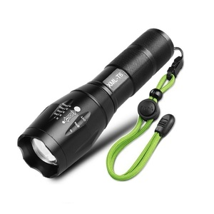 Best 1000 High Lumens LED Torch G700 Police Waterproof Mini Rechargeable T6 Tactical Flashlight