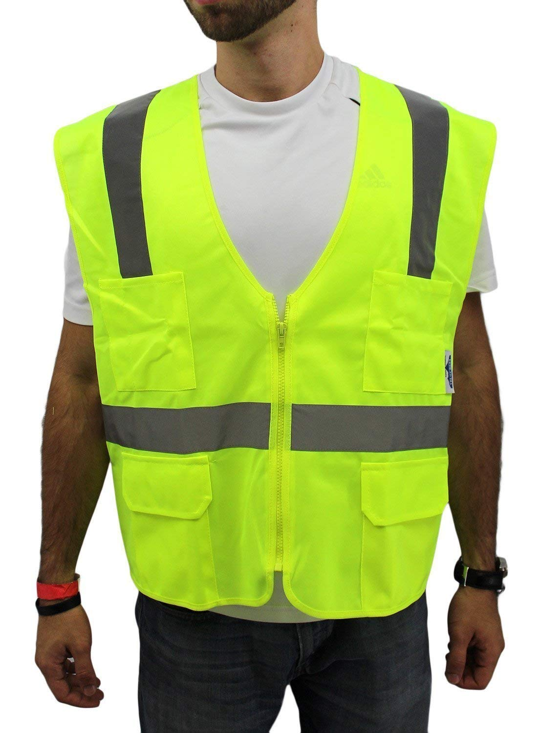 Short Sleeve ansi 107-2015 Class 3 Lime tee Short with Pocket and Perimeter Guard Insect Repellant,0.2 Height Medium//38-40 Chest 30 Length 46 Wide Yellow 0.2 Height 46 Wide 30 Length MARKET SHARE BRANDS uhv868ylw-m