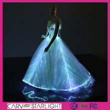 Exclusive Ladies Led Flash Ball Gowns For Prom Short evening Dress