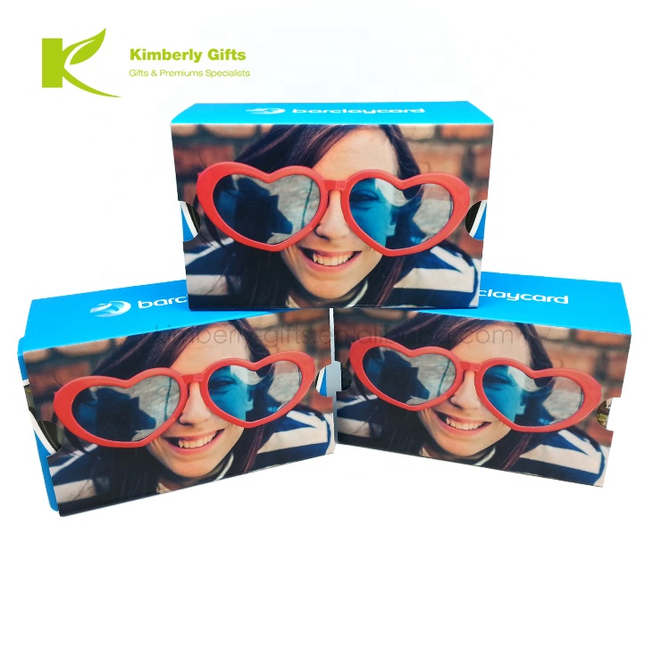 2019 Top Quality Promotional Foldable Carton Google <strong>VR</strong> <strong>3D</strong> <strong>Glasses</strong> Google Cardboard Virtual Reality