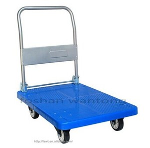 854035399a37 Wheels hand trolley, Folding aluminum luggage trolley cart, Moving foldable  hand truck