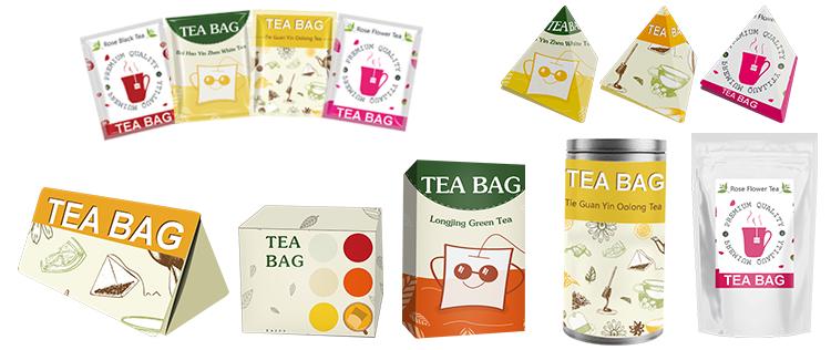 Dip tea bags