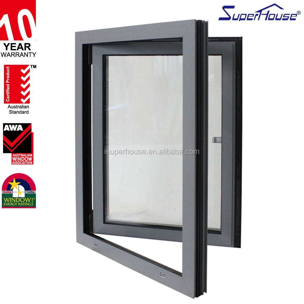 50 years industry experience High quality Euro system aluminum windows and doors made in China