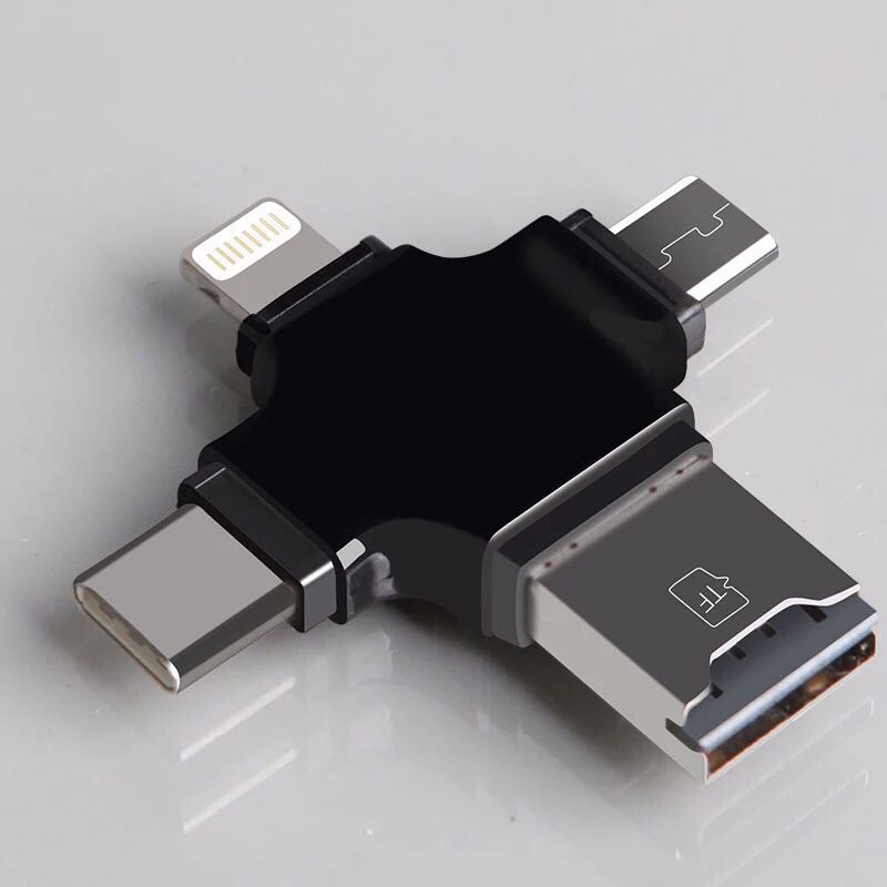 4 in 1 USB <strong>Flash</strong> Drive 32gb OTG IOS Type-C Android