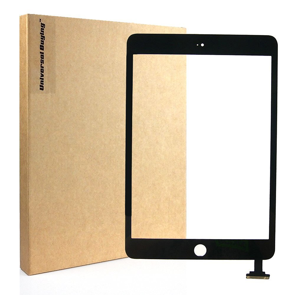iPad Mini Touch Panel, Universal Buying Touch Screen Digitizer Complete Assembly Replacement without IC Chip for iPad Mini 1 (ipad mini 1 touch panel without IC black)