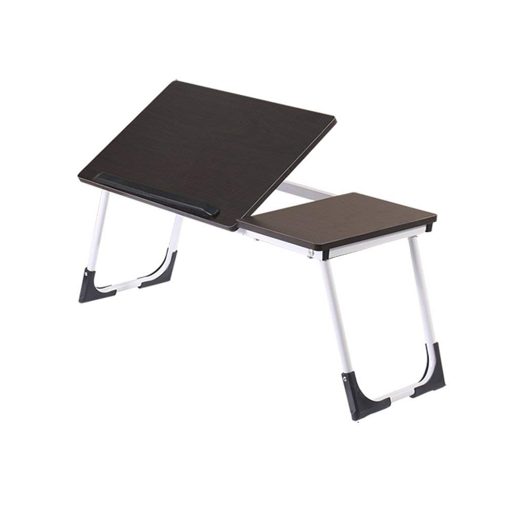 GAOYANG Foldable Laptop Desk, College Students Use A Small Table On The Bed, Dormitory Lazy Bed,Laptop Bed Tray Table, Adjustable Laptop Bed Stand, Portable Standing Table with Foldable Legs