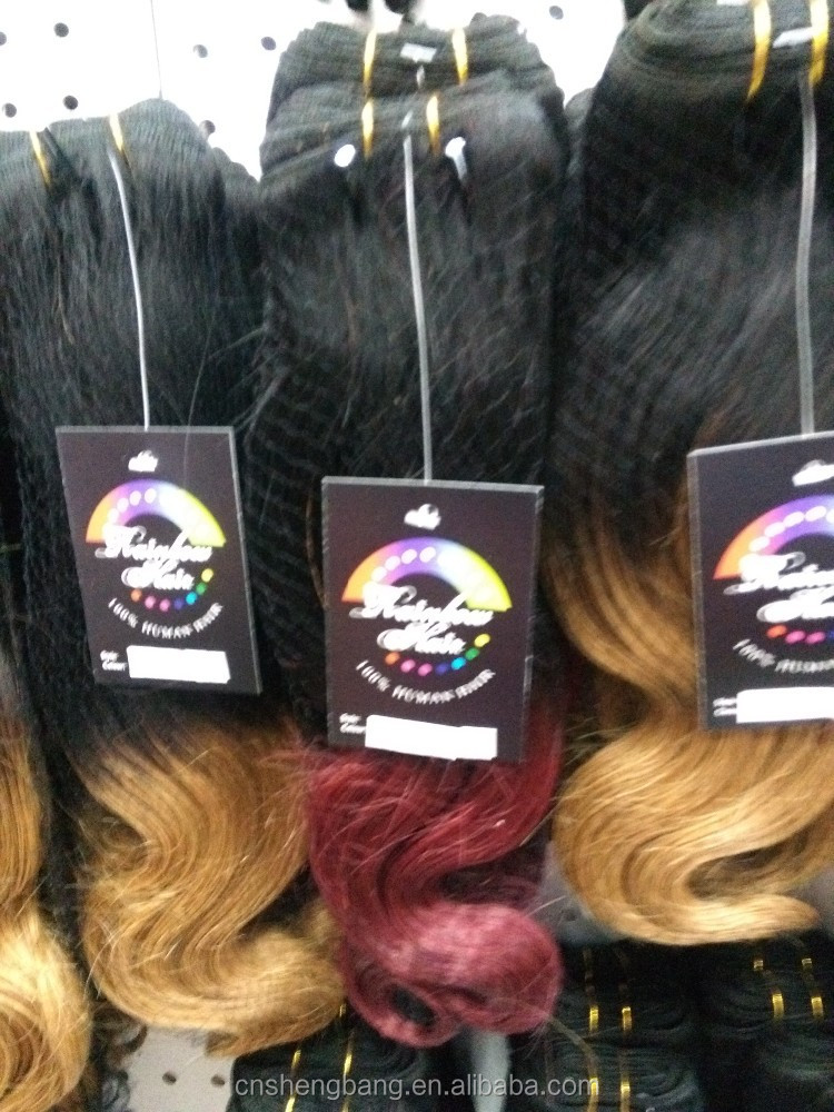 Ombre Dip Dyed Two-Tone Brazilian virgin hair body wave T1b/27# 16INCH ombre hair weaves body wave ombre color hair фото