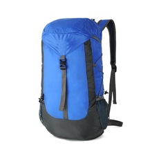 Waterproof extra large light weight folding collapsible outdoor hiking backpack bag