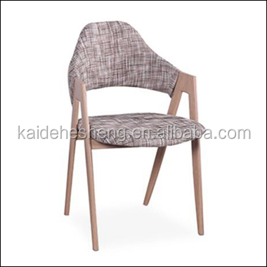 article pu leather dining chairs with wooden legs
