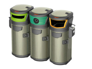 street trash can new design outdoor trash can - Outdoor Trash Cans