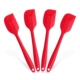 Nonstick Kitchen Utensil Sets FDA silicone Heat-Resistant Baking Spoon & Spatula Sets