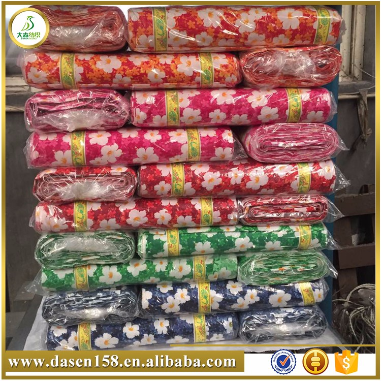Factory supply fashion colorful cotton printed fabric / printed cotton fabric