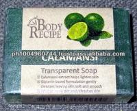 8 HBC Body Recipe Calamansi Glycerin Whitening Soaps 90g each