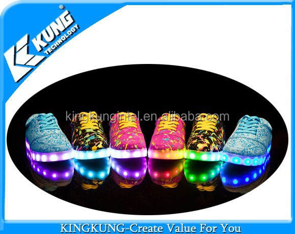 Man 8 with shoe different led light changable FPwqrF