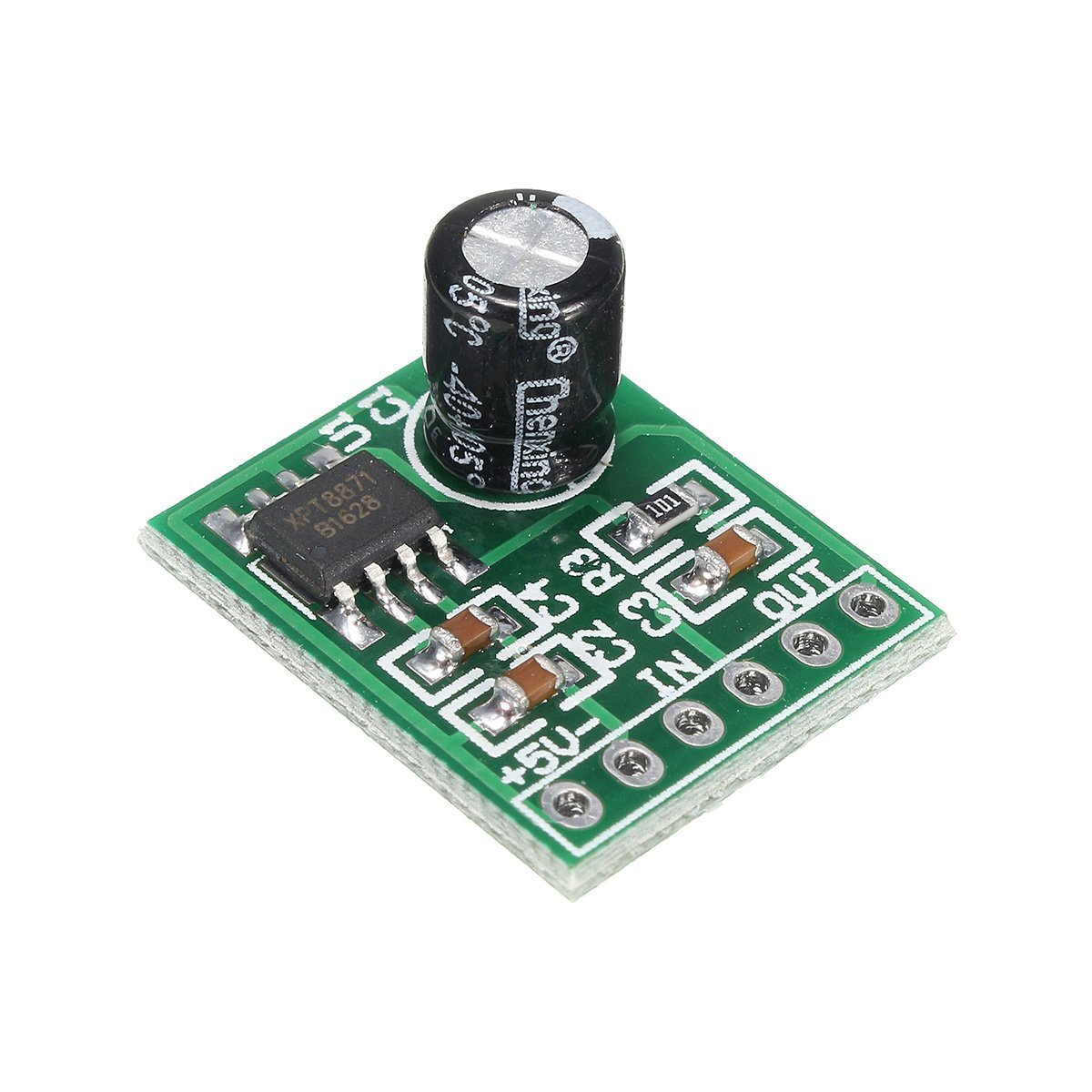 Cheap Single Channel Audio Amplifier Find 25w Hifi With Mosfet Get Quotations Dipshop Xpt8871 5v 5w 1a Mono Digital Board
