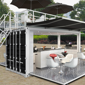 Luxury prefabricated expandable container house,shop,20ft and 40 ft.
