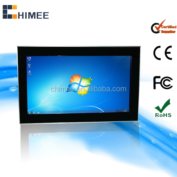 "27"" wall hanging touchscreen all-in-one pc computer(Win7 system,desktop PC)"