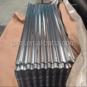 zinc galvanized corrugated steel sheet/metal roofing sheet with LOGO