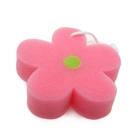 Flower shape baby bath shower sponge