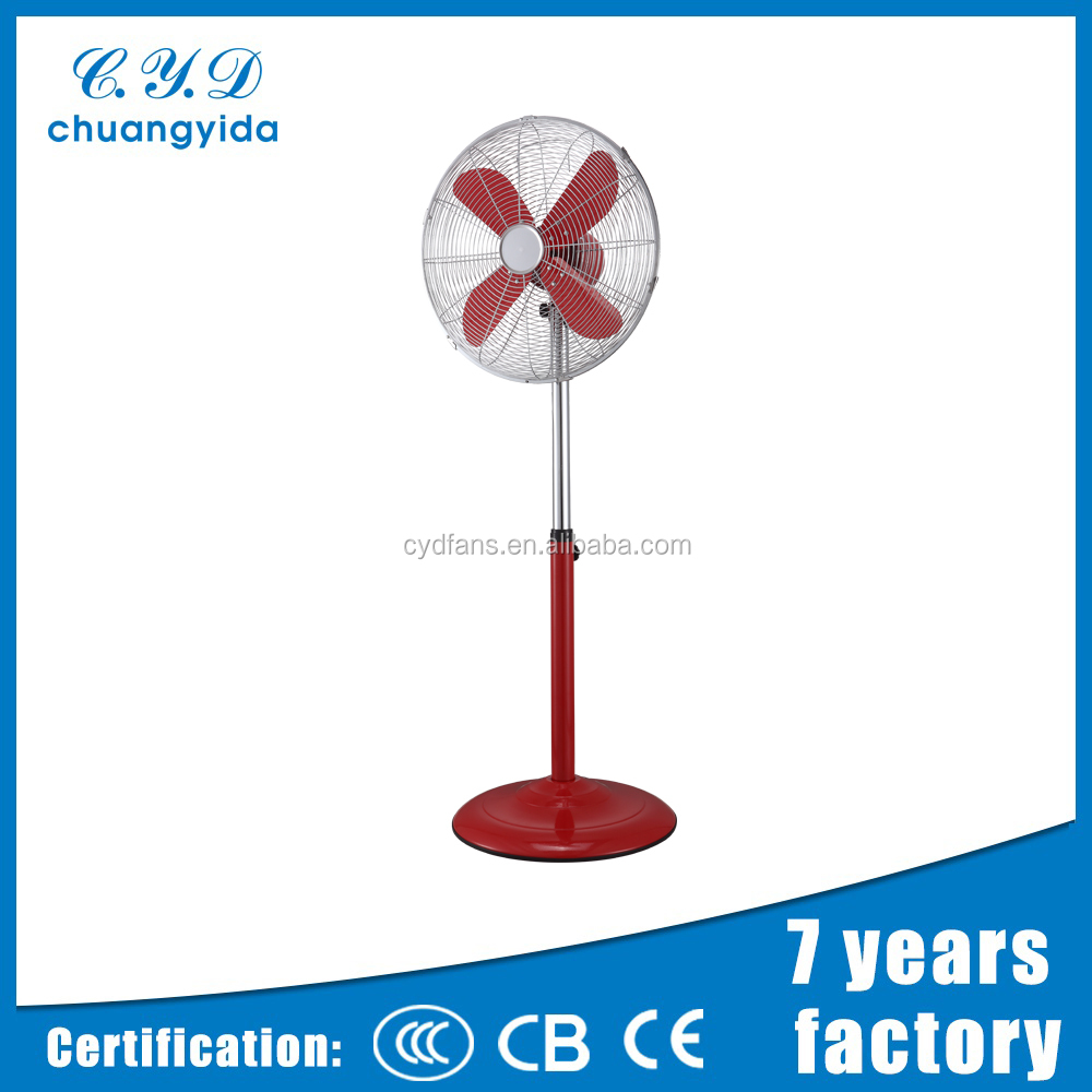 Brand new 16 inch oem cross base stand fan with low price