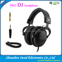 Perferct sound headphone professional dj technics use hi-fi headphone with 50mm headphone speaker