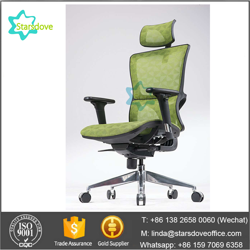 STARSDOVE - Dr. Office High Back Ergonomic Chair with Headrest and Adjustable Armrest