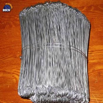Bale Wire Twister   Bocn 3 66mm Cotton Bale Tie Wire Double Loop Baler Wire Quick Link