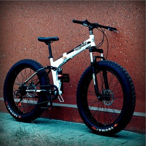 Fat tire Mountain bike Snow mountain bicycle downhill bike folding bicycle from factory