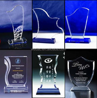 Acrylic Crystal Business Trophy