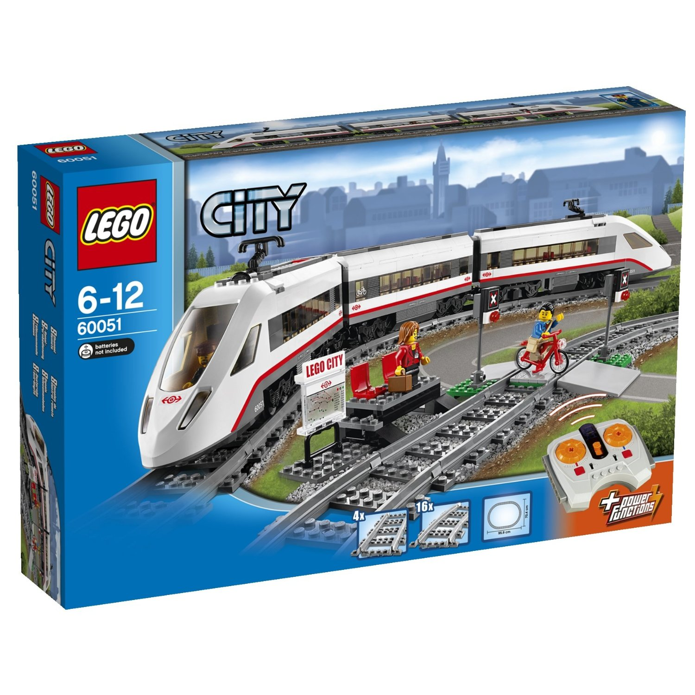 Buy Lego City High Speed Passenger Train 60051 Rail Set Spare Coach