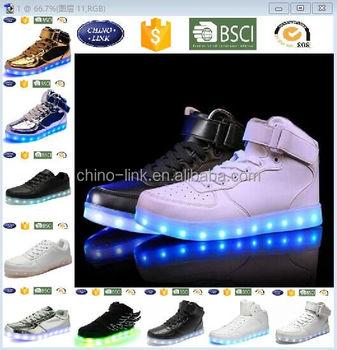 Good pattern led shoes cheap price adult glow luminous led light shoes light  up shoes d8a46900fa14