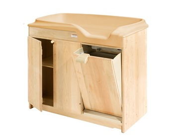 Montessori Material Adult Baby Furniture Wooden Folding Baby - Adult changing table