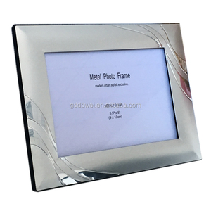 wholesale manufacturer silver metal 5x7 photo frame