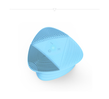 Private label OEM exfoliating cream sonic facial cleansing brush for clean and clear face wash