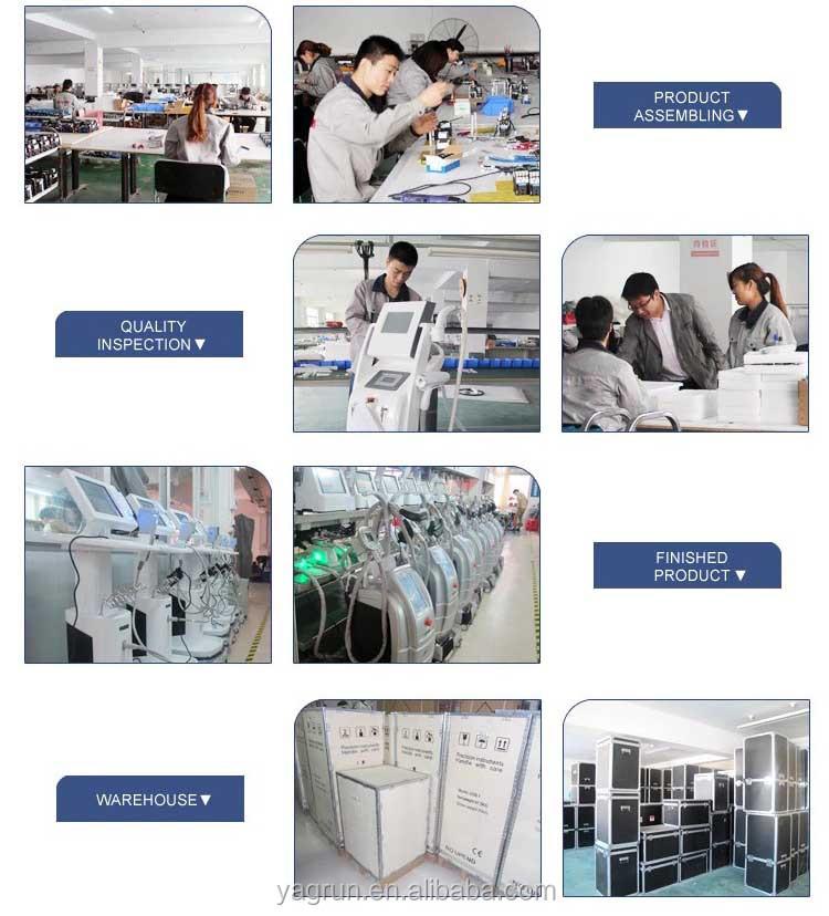 Yagrun Velashape 痩身システム V10 + V9 Velashape 3 + キャビテーション + RF + 真空ローラー + バイオ + レーザー痩身マシン
